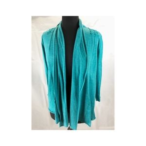 Vintage Suzie Women's XL Open Front Knit Cardigan